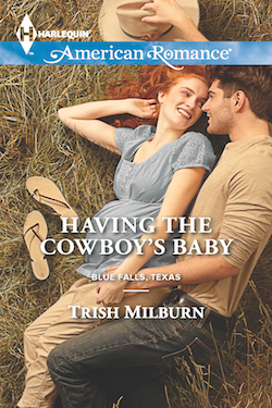 Having the Cowboy's Baby by Trish Milburn